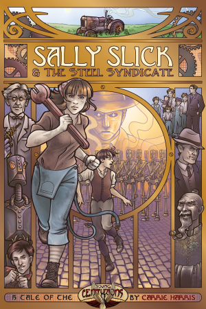 Review - Sally Slick and the Steel Syndicate's cover